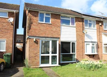 Thumbnail 3 bed end terrace house for sale in Winston Close, Boyatt Wood, Eastleigh