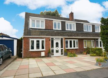 Thumbnail 4 bed semi-detached house for sale in Kenilworth Drive, Hazel Grove, Stockport