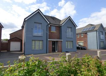 Thumbnail 4 bed detached house for sale in Canal Court, Hempsted, Gloucester, Gloucestershire