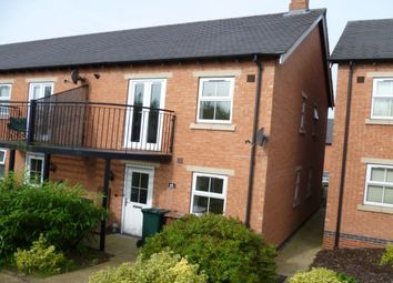 Thumbnail 1 bed terraced house to rent in St. Martins Close, Church Gresley, Swadlincote