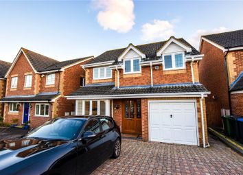 Thumbnail 4 bed detached house for sale in Halsey Drive, Hemel Hempstead, Hertfordshire