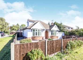 Thumbnail 3 bed detached bungalow for sale in Thornton Drive, Narborough, Leicester