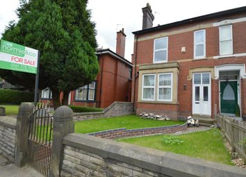 Thumbnail 4 bedroom semi-detached house for sale in Bury New Road, Whitefield, Manchester
