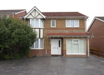 Thumbnail 4 bedroom detached house for sale in Coed Criafol, Barry