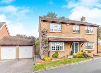 Thumbnail 4 bed detached house for sale in Echo Hill, Royston