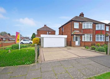 Thumbnail 3 bed semi-detached house for sale in Belgrave Drive, Goole