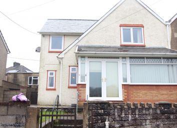 Thumbnail 3 bed semi-detached house for sale in Heol Haulfryn, Tonyrefail -, Porth
