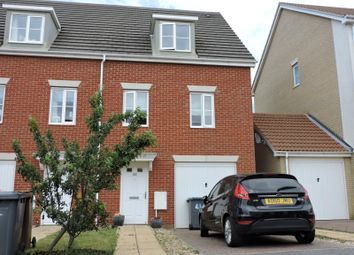 Thumbnail 3 bedroom end terrace house to rent in Newman Drive, Kesgrave, Ipswich