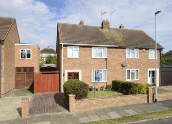 Thumbnail 3 bed semi-detached house for sale in Western Way, Wellingborough, Northamptonshire