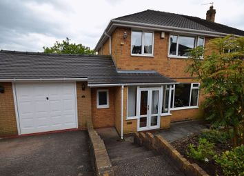 Thumbnail 3 bed semi-detached house for sale in Kent Drive, Endon, Stoke-On-Trent