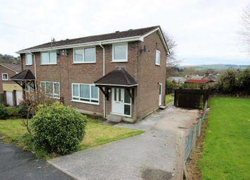 Thumbnail 3 bedroom semi-detached house to rent in Pencreber Road, Horrabridge