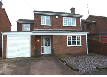 Thumbnail 4 bedroom detached house to rent in Knights Close, Leverington, Wisbech