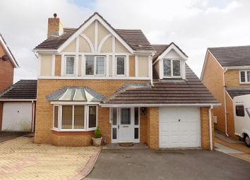 Thumbnail 4 bed detached house for sale in Dan Y Deri, Broadlands, Bridgend.