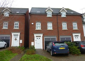 Thumbnail 3 bed town house to rent in Saddlers Close, Billingshurst