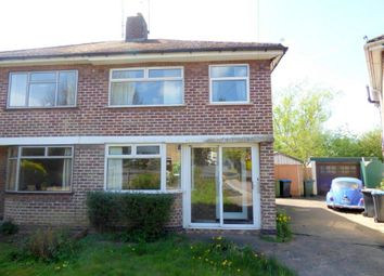 Thumbnail 3 bed semi-detached house for sale in Oakfield Road, Rugby