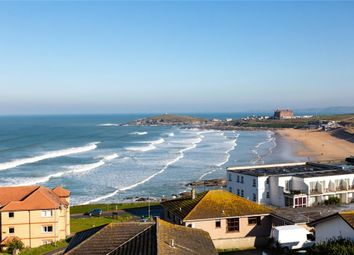 Thumbnail 3 bed flat for sale in Seascape, Pentire Avenue, Newquay, Cornwall