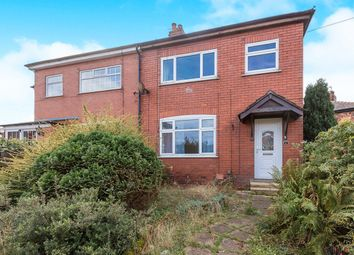 Thumbnail 3 bed semi-detached house for sale in Crown Street, Farington, Leyland