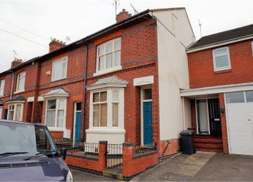 Thumbnail 3 bed end terrace house for sale in Dulverton Road, Westcotes
