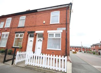 Thumbnail 2 bed end terrace house to rent in Matlock Street, Eccles, Manchester