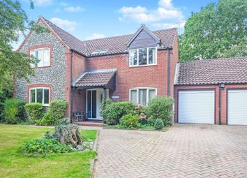 Thumbnail 4 bed detached house for sale in Beechwood Avenue, Norwich
