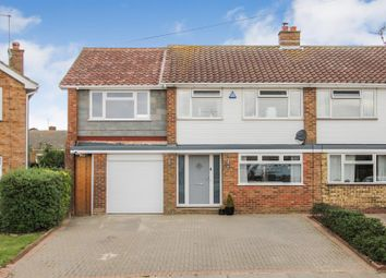 Thumbnail 3 bed semi-detached house for sale in Meadow Walk, Seasalter, Whitstable