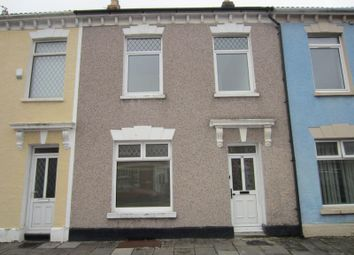 Thumbnail 4 bed terraced house for sale in Mark Street, Cardiff
