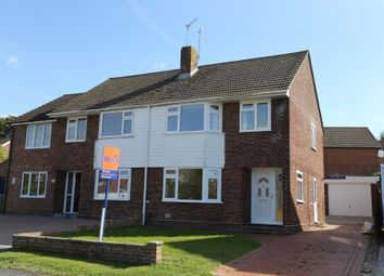 Thumbnail 3 bed semi-detached house to rent in Arundel Drive, Fareham, Hampshire