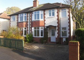 Thumbnail 4 bed semi-detached house to rent in Wayside Grove, Harrogate