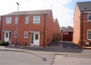 Thumbnail 2 bedroom semi-detached house for sale in Northumberland Way, Walsall