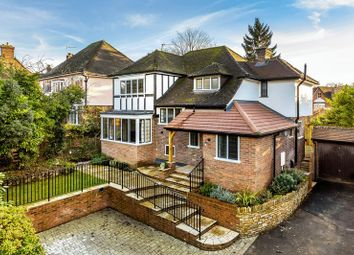 Thumbnail 3 bed detached house for sale in Clandon Road, Guildford