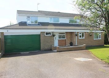 Thumbnail 4 bed detached house for sale in Bodmin Avenue, Wigston, Leicester