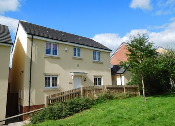 Thumbnail 3 bed detached house for sale in Meadow Close, Caerphilly