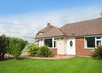 Thumbnail 2 bed semi-detached bungalow for sale in Downsview Road, Willingdon, Eastbourne