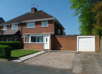 Thumbnail 3 bed semi-detached house for sale in Maple Road, Rednal
