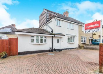 Thumbnail 4 bed semi-detached house for sale in Stuart Road, Rowley Regis