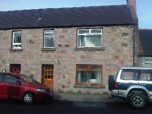 Thumbnail 3 bedroom end terrace house to rent in Church Street, Dufftown, Keith
