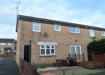 Thumbnail 4 bed end terrace house to rent in Axminster Close, Cramlington