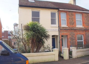 Thumbnail 4 bed semi-detached house to rent in Meadow Road, Worthing