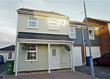 Thumbnail 3 bedroom end terrace house for sale in Taillour Close, Kemsley, Sittingbourne