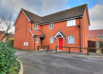 Thumbnail 3 bed semi-detached house for sale in Burdock Close, Wymondham