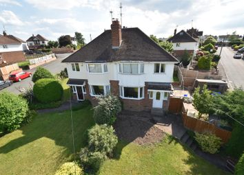 Thumbnail 3 bed semi-detached house for sale in Leslie Avenue, Worcester