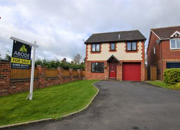 Thumbnail 4 bed detached house for sale in Buckley Close, Bramshall, Uttoxeter