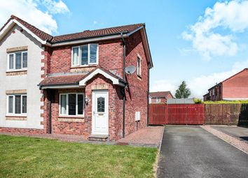 Thumbnail 2 bed semi-detached house for sale in Anson Avenue, Heathhall, Dumfries