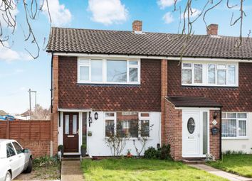 Thumbnail 3 bedroom end terrace house for sale in Bingley Road, Sunbury-On-Thames