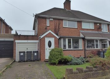 Thumbnail 3 bed semi-detached house for sale in Park View Road, Birmingham