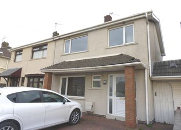 Thumbnail 3 bed semi-detached house for sale in Bower Street, Kenfig Hill, Bridgend