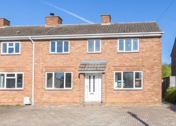 Thumbnail 3 bed semi-detached house for sale in John Gray Road, Great Doddington, Wellingborough