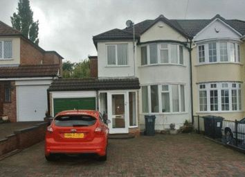 Thumbnail 3 bed semi-detached house for sale in Mardon Road, Sheldon, Birmingham