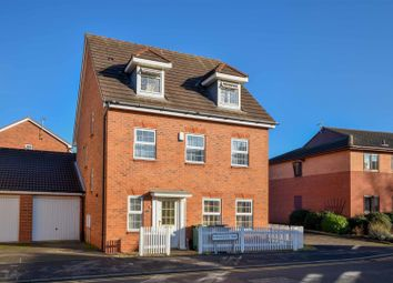 Thumbnail 5 bed detached house for sale in Kingfisher Way, Loughborough