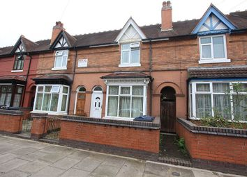 Thumbnail 4 bed terraced house for sale in Cannon Hill Road, Birmingham, West Midlands